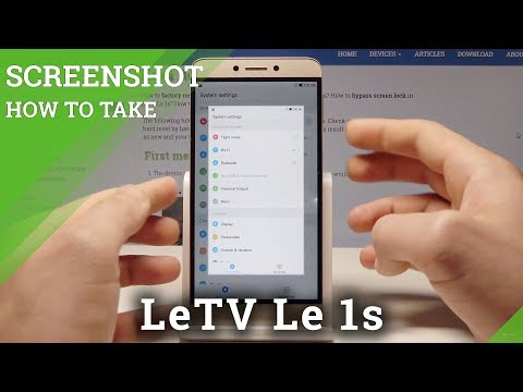 How To Take A Screenshot On LeTV Le 1s - Capture Screen Tutorial