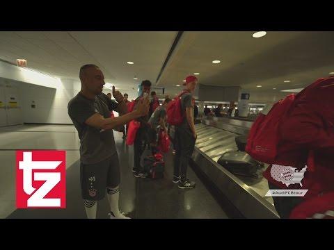 FC Bayern München in den USA: Viel zu tun für Franck Ribéry
