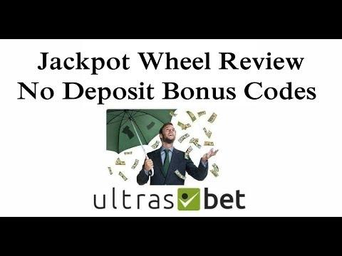 Jackpot Wheel Review No Deposit Bonus Codes 2019 Youtube