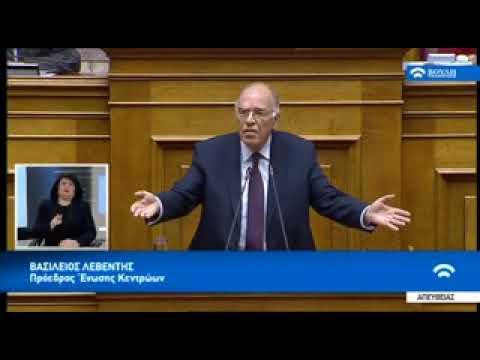 B.Λεβέντης και στελέχη της Ενωσης Κεντρωων σχολιαζουν την επικαιροτητα 25.12.2018(Ι)
