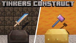 Гайд по Tinkers Construct 1.16.5 #6 Топовое оружие и инструменты