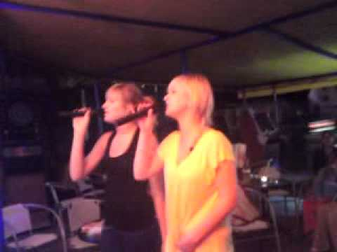 Mielno 2009 Bolson Ania i Natalia karaoke