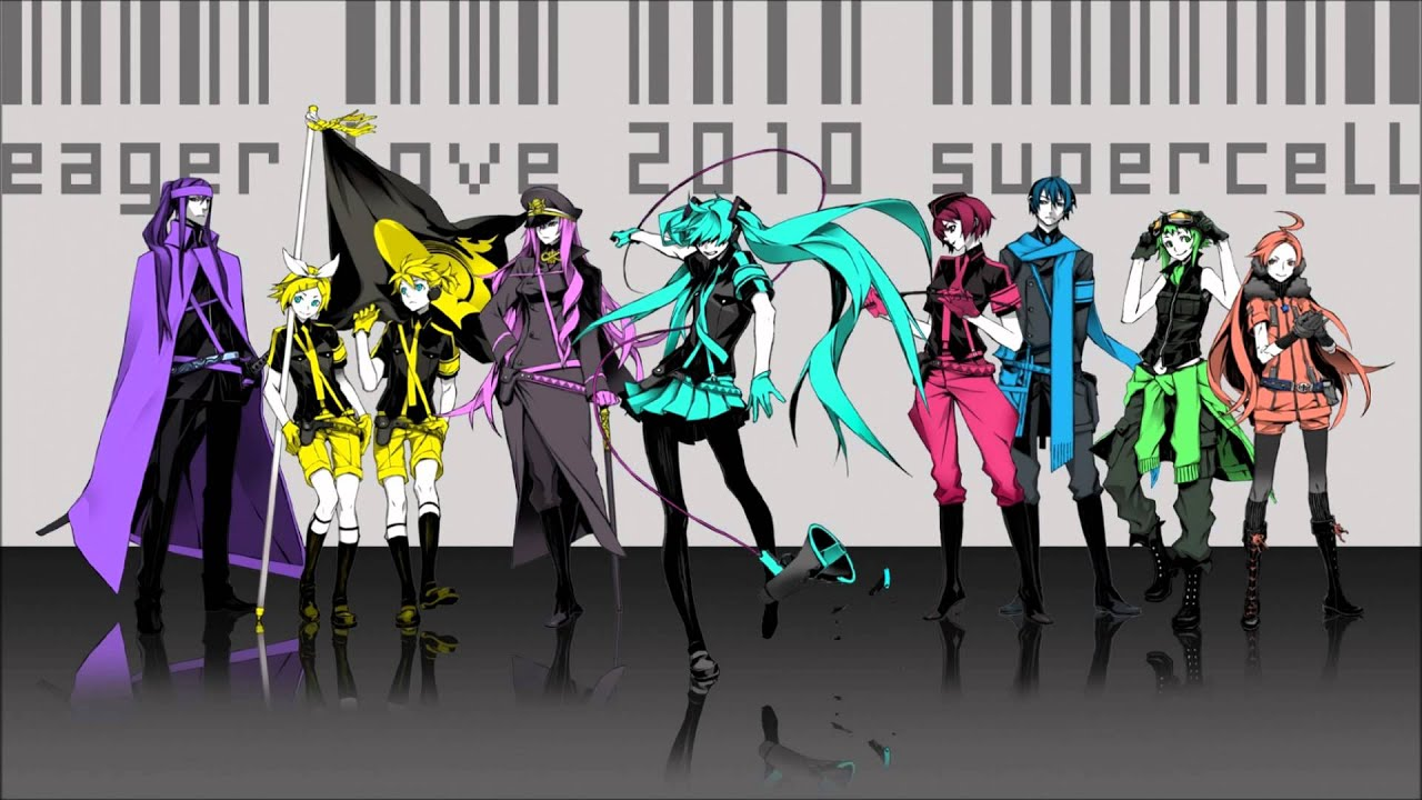 【Vocaloid】 Love is War! 【Chorus of 9 】 - YouTube