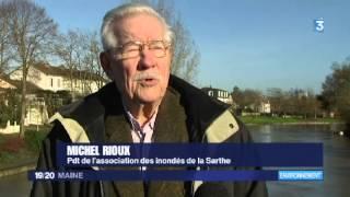 Sarthe : vigilance sur les crues