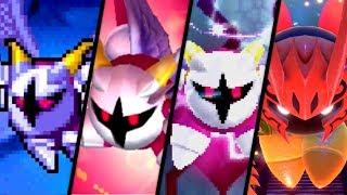 Evolution of Galacta Knight Battles in Kirby Games (2008 - 2018)