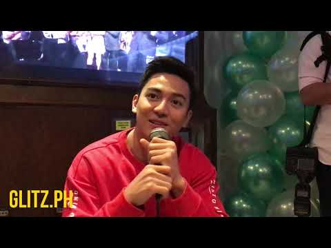 Barbie Forteza surprised Jak Roberto at the set of Tadhana in Tagaytay
