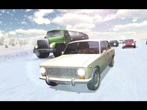 Russian Winter Traffic Racer - Симулятор зимнего вождения на Android ( Review)