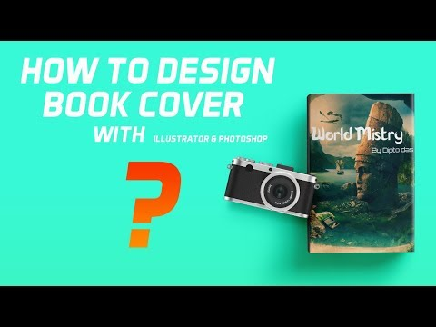 How to Design Book Cover in Adobe Illustrator & Photoshop 2019