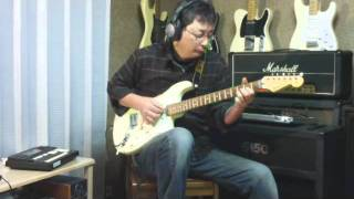 Now And Forever - Richard Marx Solo Guitar cover with Fender Custom Shop Jeff Beck Strat.