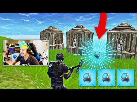 Ninja Reacts to New Port-a-Fort in Fortnite!   Fortnite Best Moments #28
