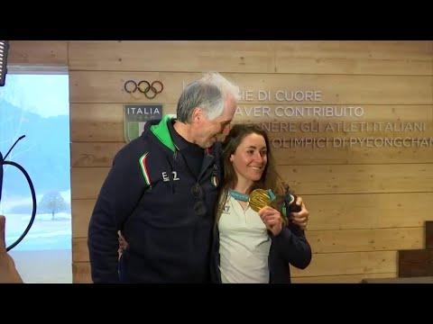 """Olimpiadi, la gioia di Sofia Goggia: """"Realizzato il sogno che avevo fin da bambina"""""""
