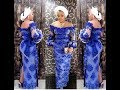 2018 Beautiful And Colorful Aso Ebi Lace Styles: Lovely And Trendy Aso Ebi Styles 2018