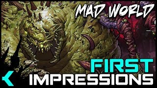 Mad World MMO | New HTML5 Monster Slaying Mmorpg | First Impressions