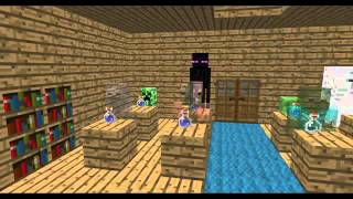 Minecraft Monster schule Zaubertranks training