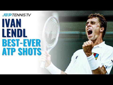 Ivan Lendl: Best ATP shots