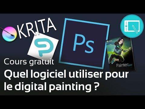 Quel logiciel utiliser pour le digital painting ? (gratuits/payants) - [Le Programme] 1. Chap 0.