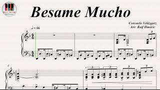 Besame Mucho - Consuelo Velázquez, Piano