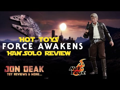 HOT TOYS - FORCE AWAKENS - HAN SOLO ( REVIEW )