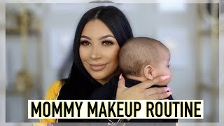 GRWM: MY QUICK & SIMPLE MOMMY MAKEUP ROUTINE|| EVETTEXO