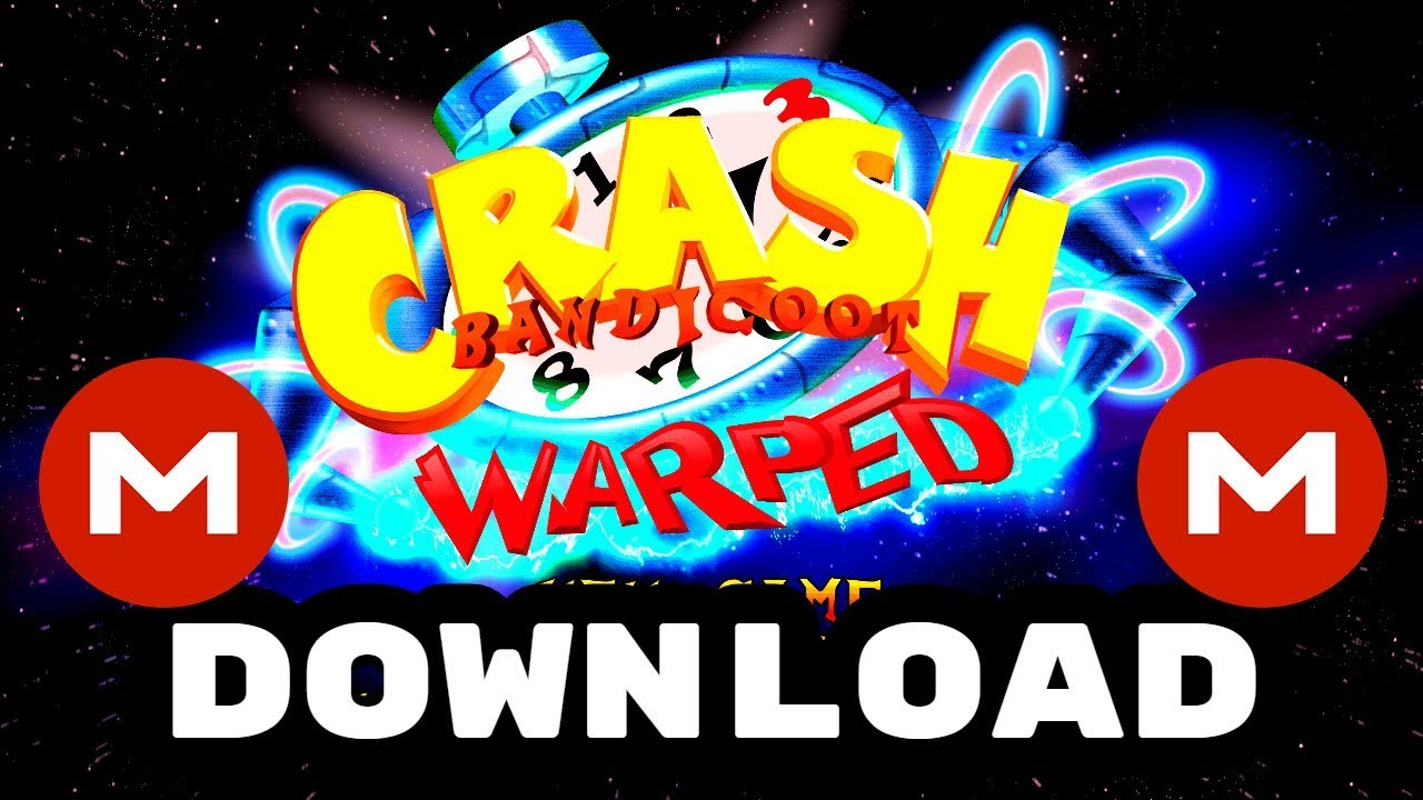 Crash Bandicoot 3 Warped (PS1 ISO/PSX ROM) ANDROID & PC - Download MEGA /  Descargar por MEGA