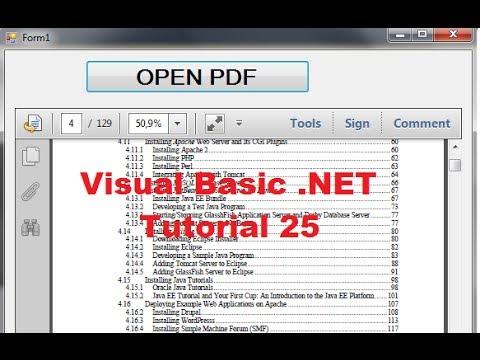 Visual Basic Tutorial 25