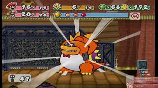 Paper Mario The Thousand Year Door: Chapter 3 Boss and Chapter 4
