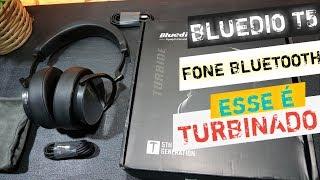 BLUEDIO T5 TURBINE,UNBOXING FONE DE OUVIDO,TOP E BARATO!