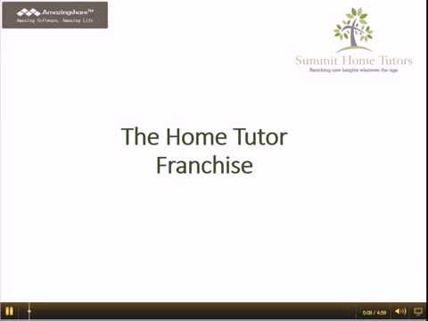Introduction To The Summit Home Tutors Franchise