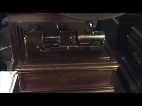 1862 Battle Cry Of Freedom Civil War Played On Edison Opera Phonograph