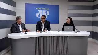 João Azevedo participa de sabatina na Rádio Jovem Pan João Pessoa
