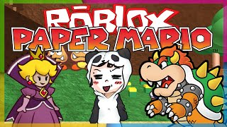 Roblox - PAPER MARIO RP: CASTELO DO BOWSER.