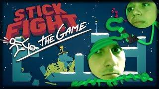 Jogando Stick Fight: The Game - O INFERNO DAS COBRAS!!
