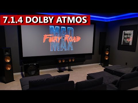 7.1.4 Dolby Atmos Home Theater Klipsch RF7 III And SVS PB16 And PB4000