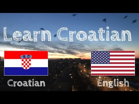 Learn before Sleeping - Croatian (native speaker)  - without music