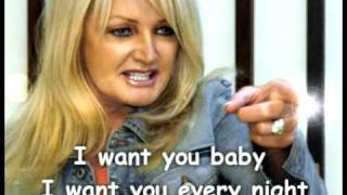 Watch Bonnie Tyler I Want You video