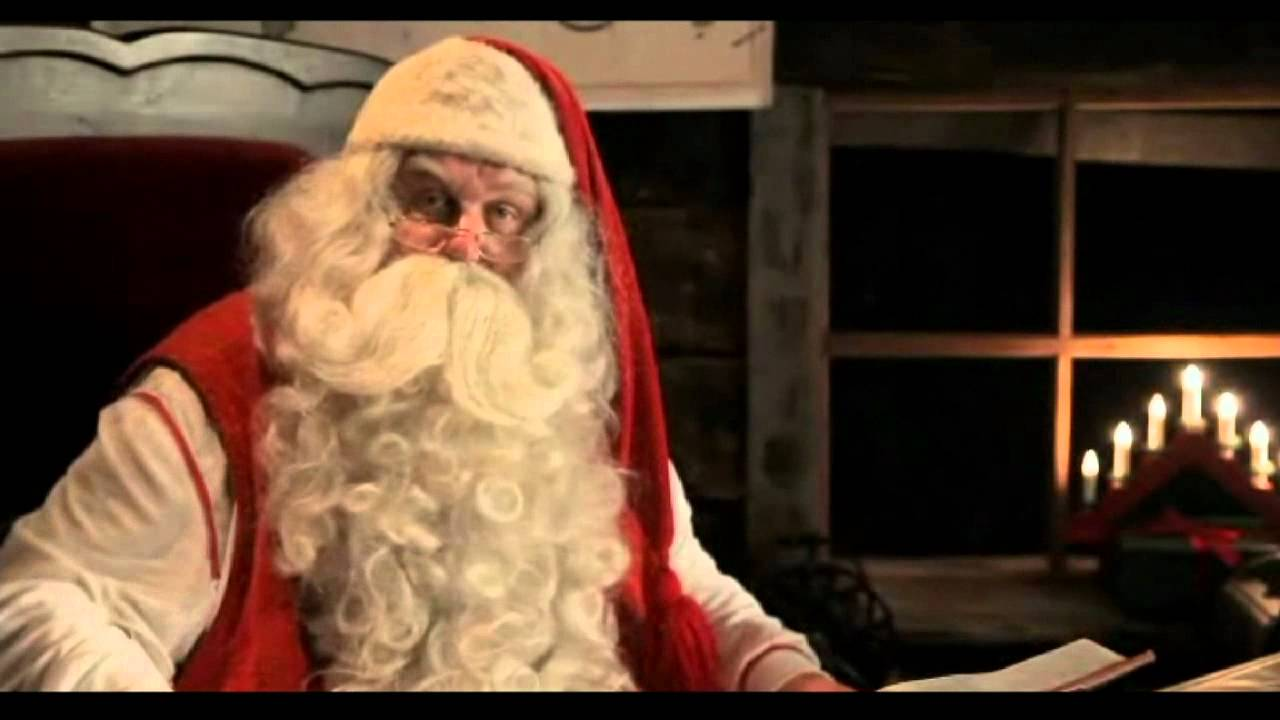 special edited video message from santa claus to our daughter