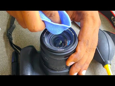 How to Clean DSLR Camera Lens - Simple and Easy Trick