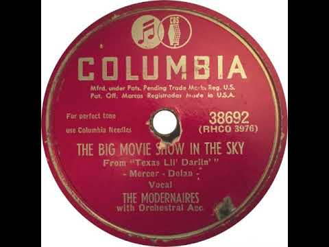 The Big Movie Show In The Sky (1950) - The Modernaires