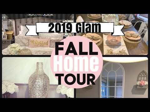 FALL HOME TOUR | GLAM HOME DECOR | CHELLESGLAMHOME