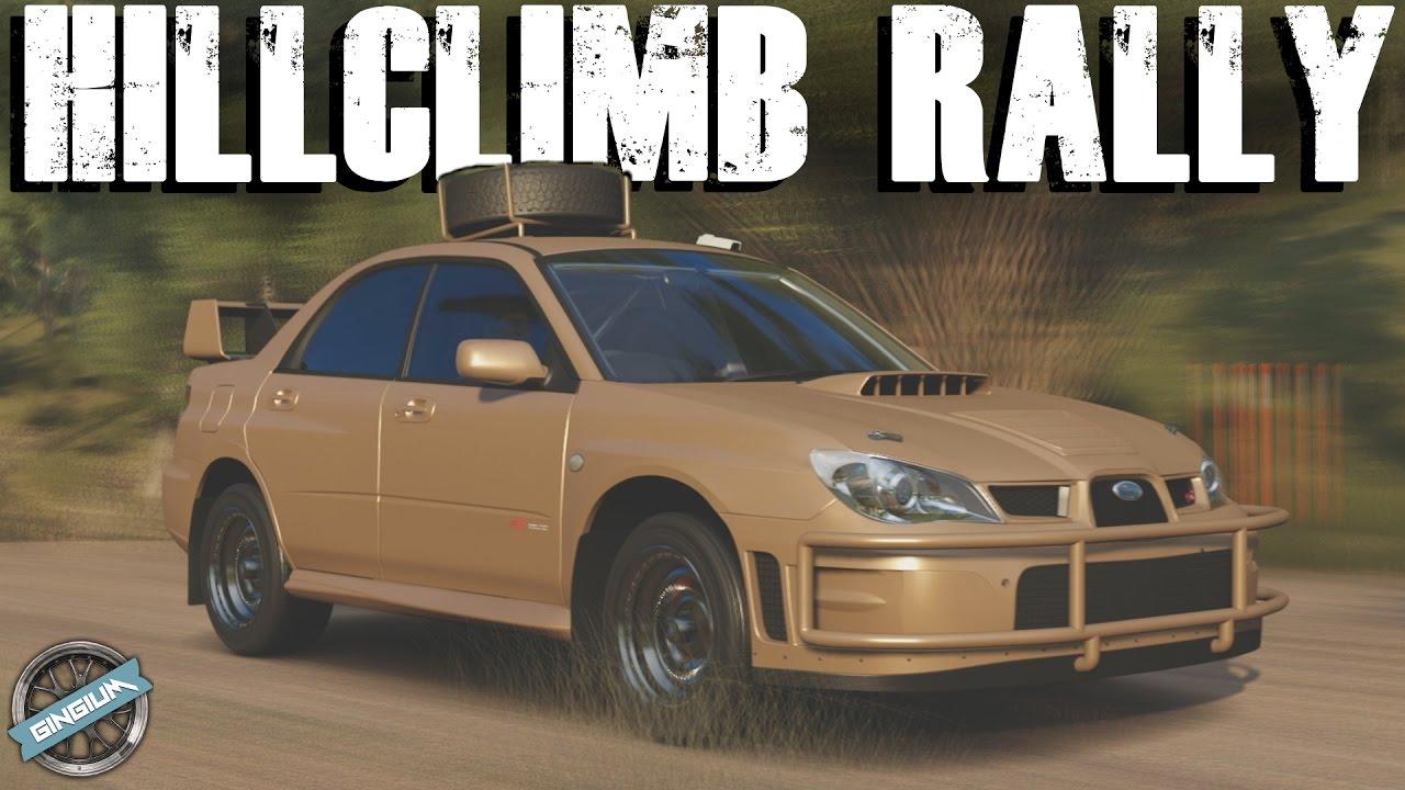 HILLCLIMB RALLY! - 2005 Subaru WRX STI || RALLY BUILD ...