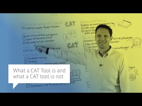 What a CAT tool is and what a CAT tool is not