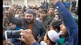 Gurdwara Nankana Sahib attacked by Muslim Mob LIVE Video