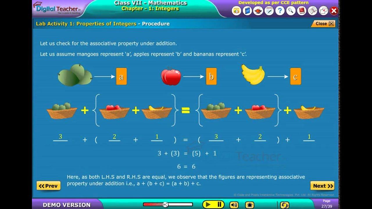 Math Games For Grade 7 Integers | Bolla.co
