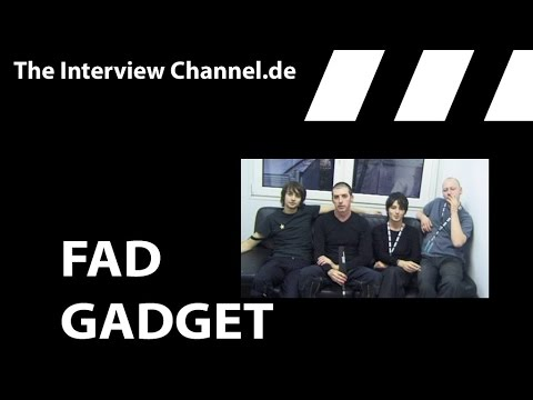 Fad Gadget Interview 2001