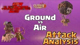 Clash of Clans | Ground vs Air Livestream - Attack Analysis