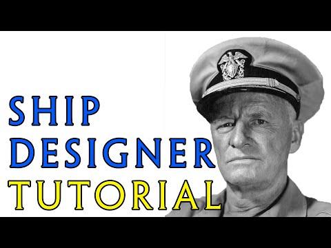 Hearts of Iron IV: Ship Designer Tutorial / Advice [Version 1.9]