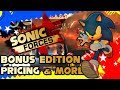 Sonic Forces Bonus Edition,DLC,Skins,Release Date,Pricing & More