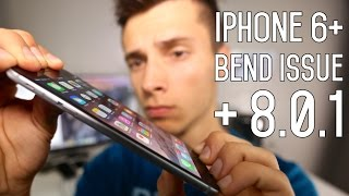 iPhone 6 Plus Bend Issue & iOS 8.0.1 Released