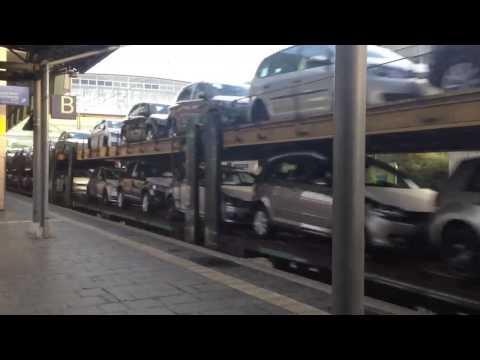 Deutsche Bahn - Transport von Autos