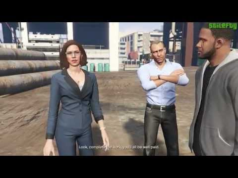 GTA 5 PC - Mission #42 - I Fought The Law... [Gold Medal]